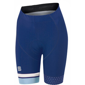 Sportful Diva Shorts Women blue twilight/white/cerulean